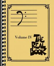 The Real Book Volume IV Sheet Music Bass Clef Edition Real Book Fake B 000103350
