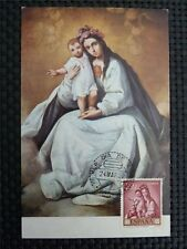 Spain MK 1962 Madonna Maria maximum carta carte MAXIMUM CARD MC cm c1658
