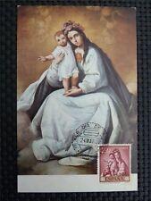 Spain MK 1962 Madonna Maria Maximum Card Carte Maximum Card MC cm c1658