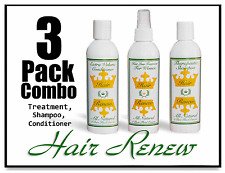 HAIR RENEW 3-COMBO HAIR LOSS REGROWTH thin see-through hair regaine menopausal