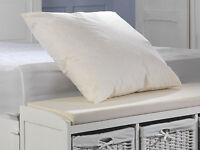 Duck Feather 65cm x 65cm (26'') Square Euro Continental Cotton Cambric Pillows