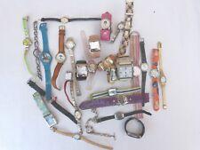 Lote de 30 relojes usados sin funcionar