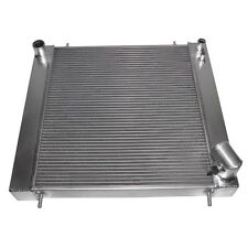 Racing Aluminum Radiator For Jaguar XKE E Type Series 1 Manual 1965 1966 1967