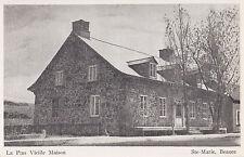 La Plus Vieille Maison STE-MARIE de BEAUCE Quebec Canada Carte Postale Bilodeau