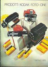 CATALOGO Prodotti KODAK Instamatic-Macchine Fotografiche Cineprese Pellicole-976