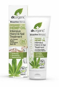 Dr. Organic Bioactive Organic HEMP OIL + Cocoa + Bark Oil hand & Nail cream