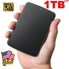 Toshiba 1 Terabyte Portable External Hard Drive USB 3.0. Video Music Storage 1TB