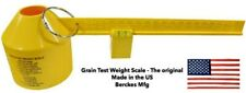 Grain Test Weight Scalelbs Per Bushel And Kg Per Hl Made In The Usa Original