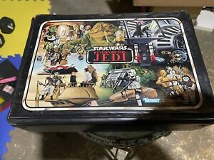Vintage Kenner Star Wars Return of the Jedi Action Figure Carrying CaseW 7 Figs