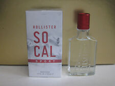 SOCAL SPORT by HOLLISTER 1.7 oz 50 ml EAU DE COLOGNE SPRAY MEN NEW IN BOX SEALED