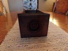 New ListingAntique Vintage Treadle Sewing Machine Wood Cabinet Drawer Storage Box