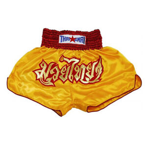 Kick Boxing Muay Thai Shorts Mma Men Kids Grappling Satin Pants Wear Gym Sport