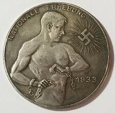 Ww2 Wwi German military coin Medallion reichmark Chains 1933