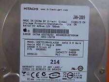 640 Go Hitachi hde721064sla330 | 0a39991 | MLC: ba3064 | jan-2009 | pcb OK #214