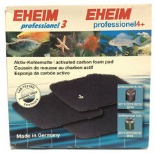 Eheim Activated Carbon Foam Pads Professional 3/3e Professional 4+/ 4e+ New