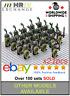 21 Minifigures Green Dragon Army Knights Castle King Toys - Block Custom UK