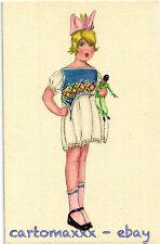 Postcard Art Deco - Mela Koehler Style - Bambina Child - L172