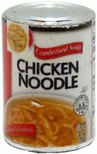 Dollhouse Miniature 1:12 Chicken Noodle Soup Can by Bright deLights