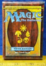 1X Factory Sealed MTG 5th EDITION TOURNAMENT 60 Card STARTER DECK MINT FACTORY
