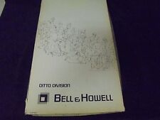 BOX Bell & Howell Ditto MasterSet Royalty Black CC-222324  Follated 21