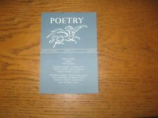 1966 Poetry Basil Bunting's Briggflatts, First Appearance in Print, Fowlie, ETC