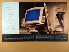 1994 Compaq Presario 900 Series 486 PC Computer vintage print Ad