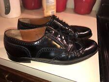 Bruno Magli Vitale Wing Tip Leather Shoes Men's Size 11.5 M, Black