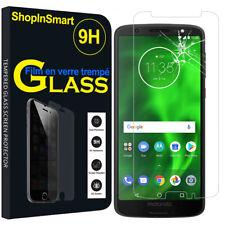 """Verre de Protection pour Motorola Moto G6 5.7 """" Véritable Film D' Écran"""