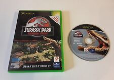 xbox JURASSIC PARK OPERATION GENESIS Game 360 Compatible PAL UK DINOSAUR WORLD