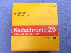 + NOS - Kodachrome 25 Standard/Normal/Reg 8mm Colour Movie Film - Exp Jan 1978 +
