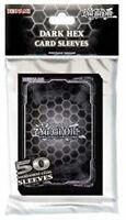 yu-gi-oh dark hex 50 pack card sleeves