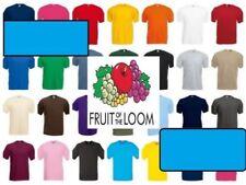 Einfarbige Größe 5XL Kurzarm Herren-T-Shirts