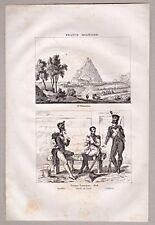 San Sebastian, Spanien, Baskenland, Grafik, Stich, Kupferstich 1835