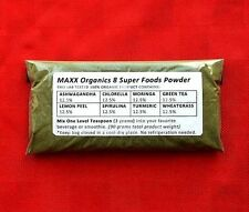 MAXX Organics 8 Super Foods Drink Powder 30 Day Supply ** Comp. It Works Greens
