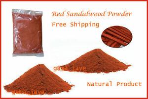 100% Pure Red Sandalwood Powder Natural Free Shipping
