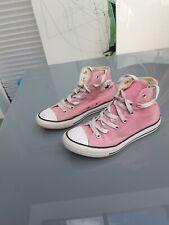 Pink Converse High Tops Girls Size 2