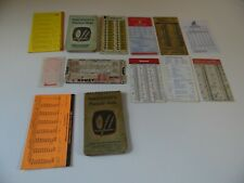 Misc Lot Of Machinist Charts And Scales and guides