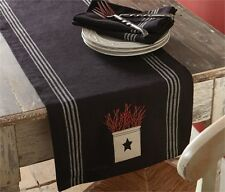 """Berry Crock Embroidered Table Runner 13"""" x 54"""""""
