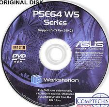 ASUS GENUINE VINTAGE ORIGINAL DISK FOR P5E64 WS EVOLUTION Motherb Disk M1318