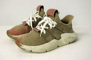 ADIDAS Prophere Trace Khaki Chalk Pink Sneakers Suede Athletic Unisex M 6 W 7.5