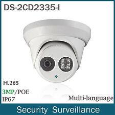 Hikvision DS-2CD2335-I 3MP IP66 EXIR Turret POE Network Outdoor Dome Camera