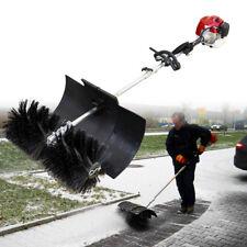 2,3 PS 52cc Benzin Power Motorbesen Sweeper Kehrmaschine Motor Besen Schneefräse