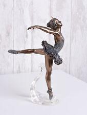 Ballerino Balletto Figura Ballerina Lago Dei Cigni Prima Ballerina Scultura