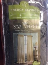 Royal Velvet Pinch Pleat Back Tab Panel 75 X 84 Warsaw Gray