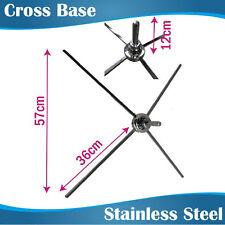 Swiveled Steel Cross Base/X Base for Teardrop Banners/Feather Banners