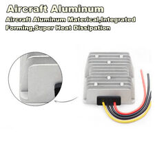 Aviation Aluminum DC-DC 24V Buck Step Down to 12V 240W 20A Car Power Converter