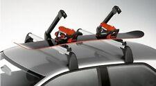 NEW GENUINE AUDI ROOF BARS 6 SKI 4 SNOWBOARD HOLDER - 4F9 071 129 E