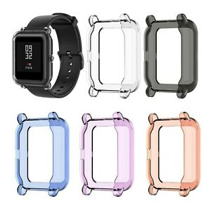 Soft Clear TPU Protection Silicone Case Cover For Amazfit GTS2 Mini Watch YEP uk