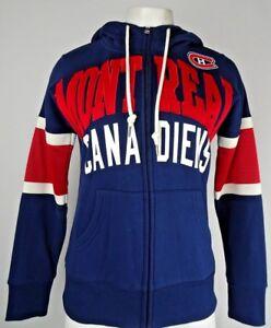 Montreal Canadiens GIII Women's Full Zip Blue Hoodie NHL S