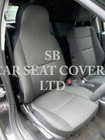 VAUXHALL ASTRA VAN SEAT COVERS - 2012 SPORTIVE RACK BLACK 2 FRONTS ONLY